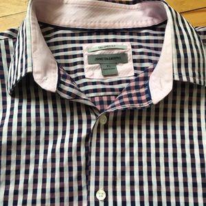 Johnson & Murphy Men's XL button down